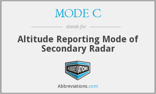 What does MODE C stand for?