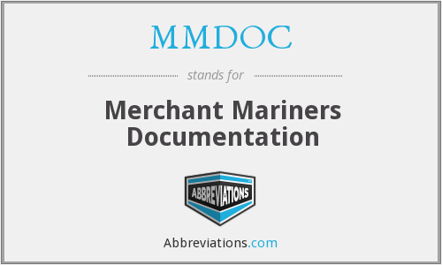 MMDOC - Merchant Mariners Documentation