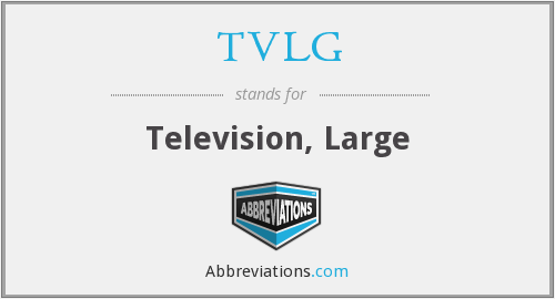 What does TVLG stand for?