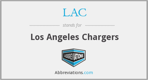 LAC - Los Angeles Chargers
