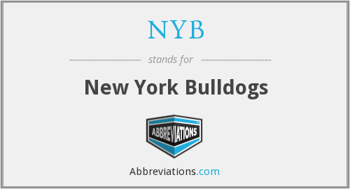 NYB - New York Bulldogs