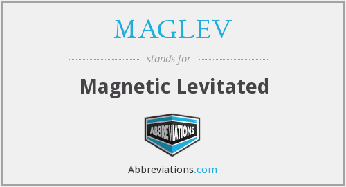 What does MAGLEV stand for?