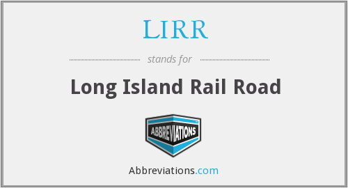 What does LIRR stand for?