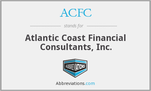 ACFC - Atlantic Coast Financial Consultants, Inc.