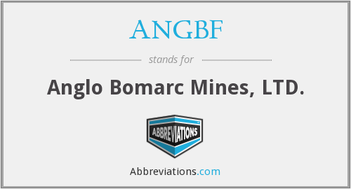 ANGBF - Anglo Bomarc Mines, LTD.