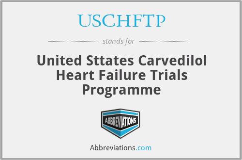 USCHFTP - United Sttates Carvedilol Heart Failure Trials Programme