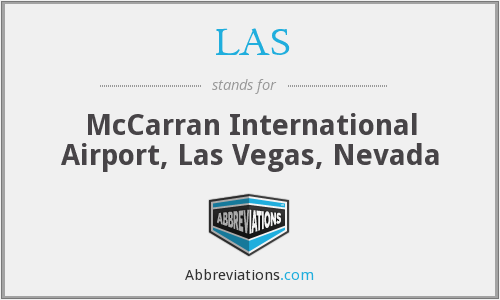 LAS - McCarran International Airport, Las Vegas, Nevada