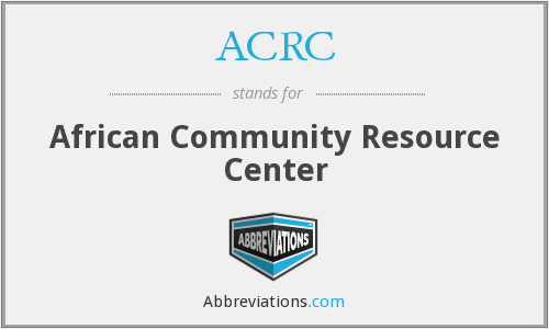ACRC - African Community Resource Center