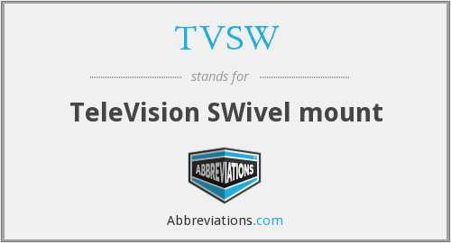 What does TVSW stand for?