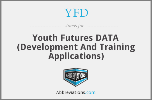 YFD - Youth Futures DATA (Development And Training Applications)