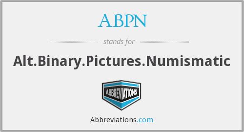 ABPN - Alt.Binary.Pictures.Numismatic
