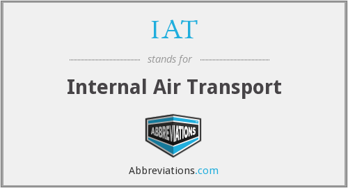 IAT - Internal Air Transport
