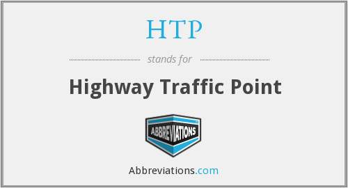 HTP - Highway Traffic Point