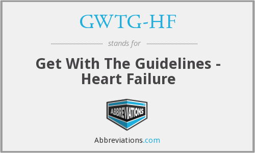 What does GWTG-HF stand for?