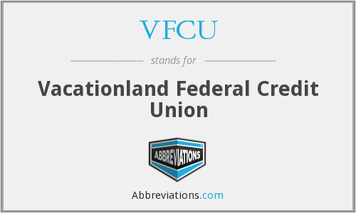What does VFCU stand for?
