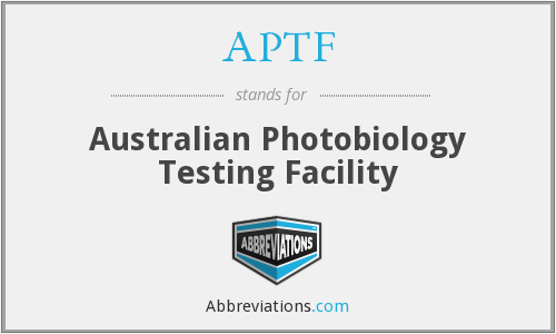 APTF - Australian Photobiology Testing Facility