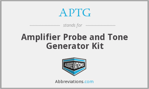 APTG - Amplifier Probe and Tone Generator Kit