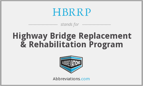 What does HBRRP stand for?