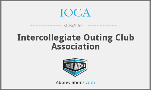 IOCA - Intercollegiate Outing Club Association