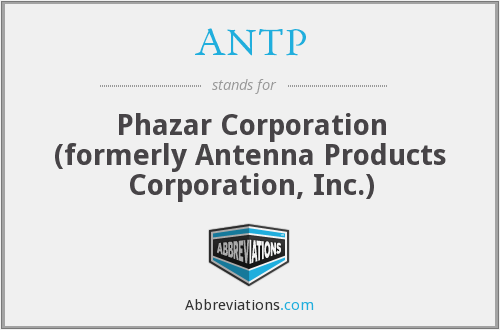 What does ANTP stand for?