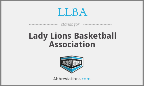 LLBA - Lady Lions Basketball Association