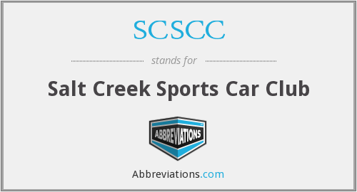 What does SCSCC stand for?