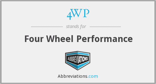 4WP - Four Wheel Performance