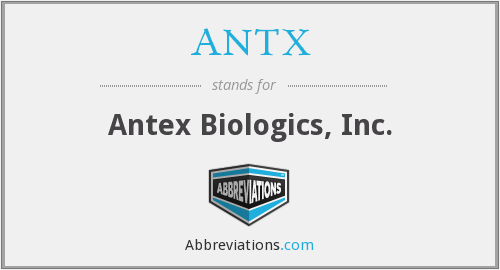 What does ANTX stand for?