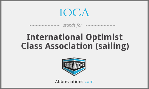 IOCA - International Optimist Class Association (sailing)