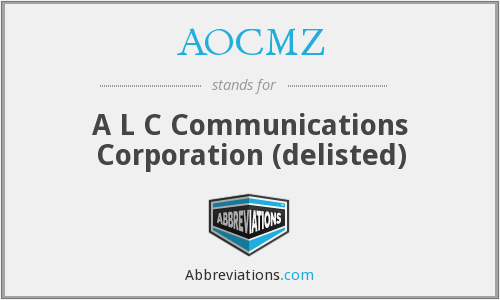 What does AOCMZ stand for?