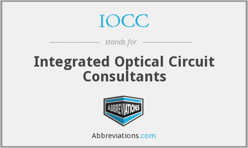 IOCC - Integrated Optical Circuit Consultants