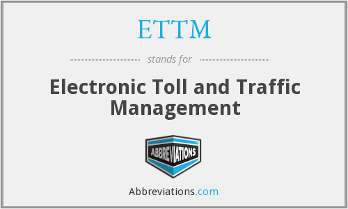 What does ETTM stand for?