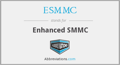 What does ESMMC stand for?