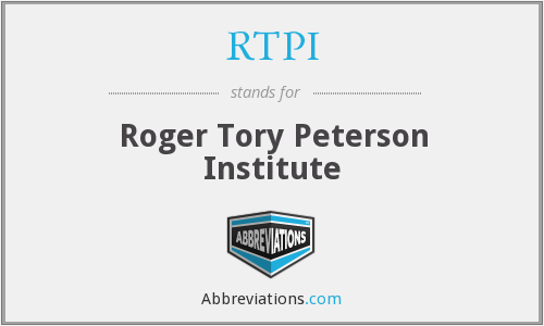 RTPI - Roger Tory Peterson Institute