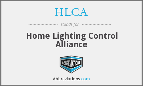 HLCA - Home Lighting Control Alliance