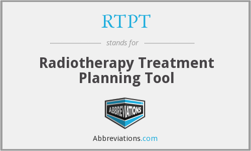 What does RTPT stand for?