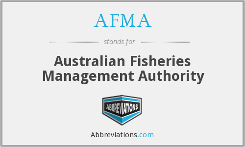 AFMA - Australian Fisheries Management Authority