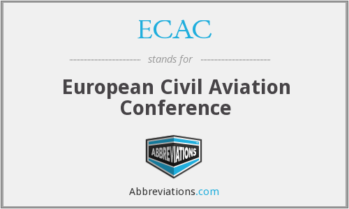 What does ECAC stand for?