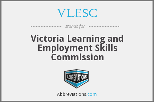 VLESC - Victoria Learning And Employment Skills Commission
