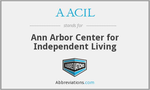AACIL - Ann Arbor Center for Independent Living