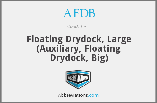 AFDB - Floating Drydock, Large (Auxiliary, Floating Drydock, Big)