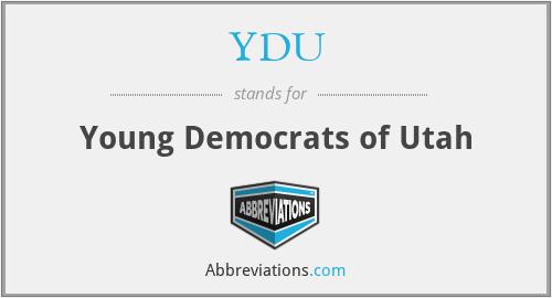 YDU - Young Democrats of Utah