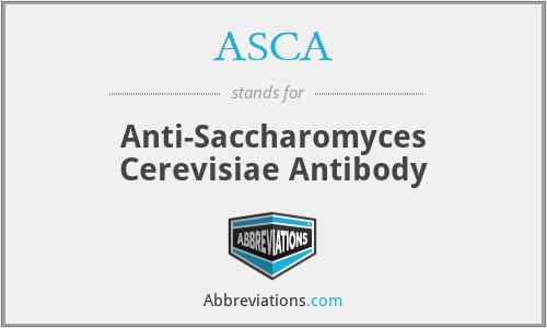 ASCA - Anti-Saccharomyces Cerevisiae Antibody