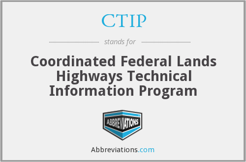 What does CTIP stand for?