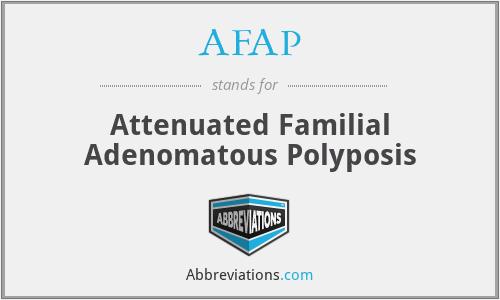 AFAP - Attenuated Familial Adenomatous Polyposis