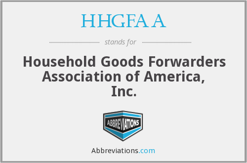 What does HHGFAA stand for?