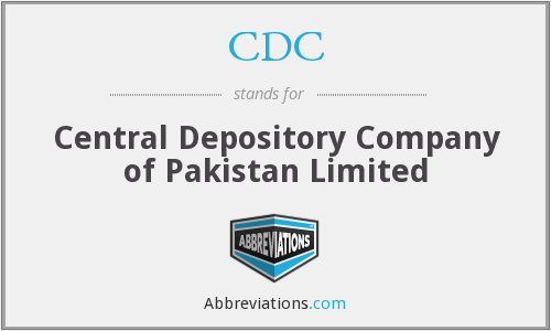 CDC - Central Depository Company of Pakistan Limited