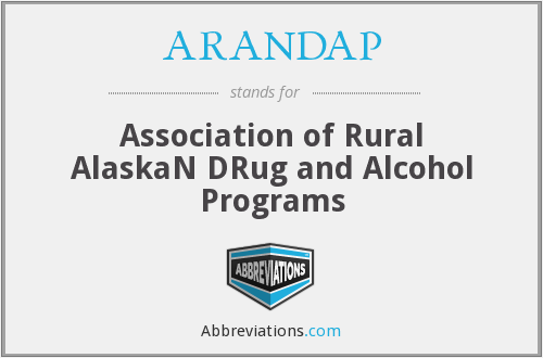 ARANDAP - Association of Rural AlaskaN DRug and Alcohol Programs
