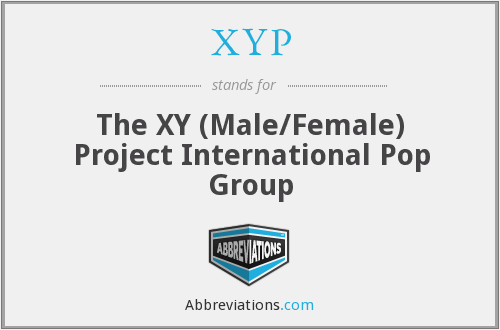 XYP - The XY (Male/Female) Project International Pop Group