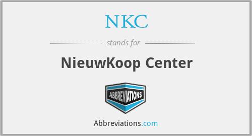 NKC - NieuwKoop Center